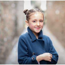 portrait of child in bubblegum alley slo