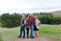 family picture in pleasanton